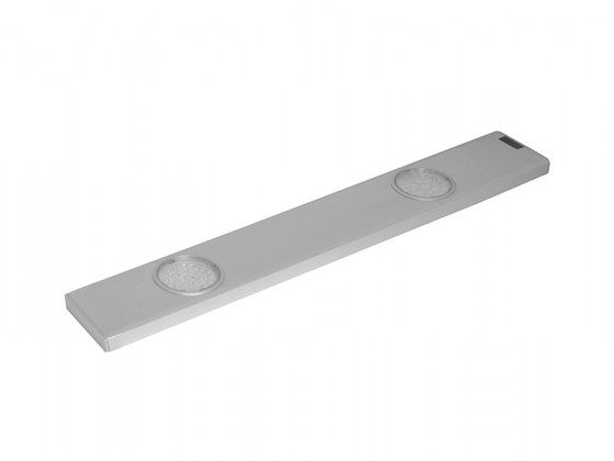 Daeron - Kuchynské LED svietidlo, 2x24LED, 6,8W (strieborná)