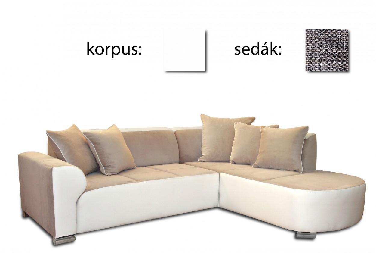 Dakar - pravý(soft 17 - korpus/lawa 05 - sedák, sk. I)