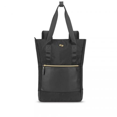 Dámska taška/batoh na notebook Solo New York Parker Hybrid,čierna