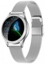 Dámske smart hodinky Armodd Candywatch Crystal, strieborná