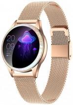 Dámske smart hodinky Armodd Candywatch Crystal, zlatá