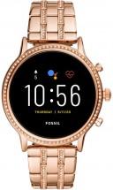 Dámske smart hodinky Fossil Julianna, ružová/oceľový remienok