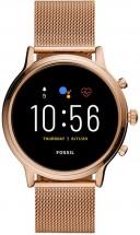 Dámske smart hodinky Fossil Julianna, ružová POUŽITÉ, NEOPOTREBOV