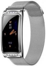 Dámske smart hodinky Immax Crystal Fit, strieborná