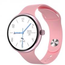 Dámske smart hodinky Immax Lady Music Fit, ružová