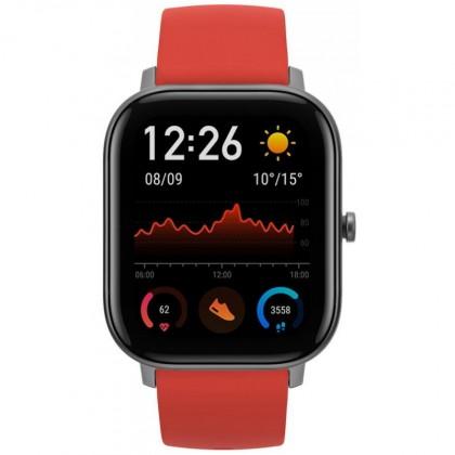 Dámske smart hodinky Smart hodinky Amazfit GTS, oranžová