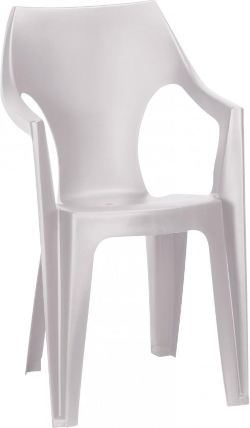 Dante - Stolička, highback (biela)