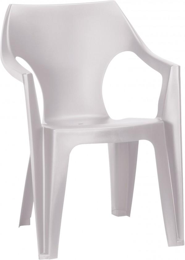 Dante - Stolička, lowback (biela)