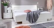Davos - Komplet 3, posteľ 180 cm (alpská biela)
