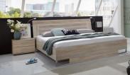 Davos - Komplet 3, posteľ 180 cm (dub)