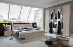 Davos - Komplet, posteľ 180 cm (dub)