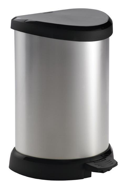 DECOBIN, 20l (plast,černo-strieborná)