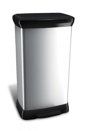 DECOBIN, 50l (plast,strieborná)