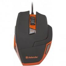 Defender Warhead GM-1500, čierna-oranžová