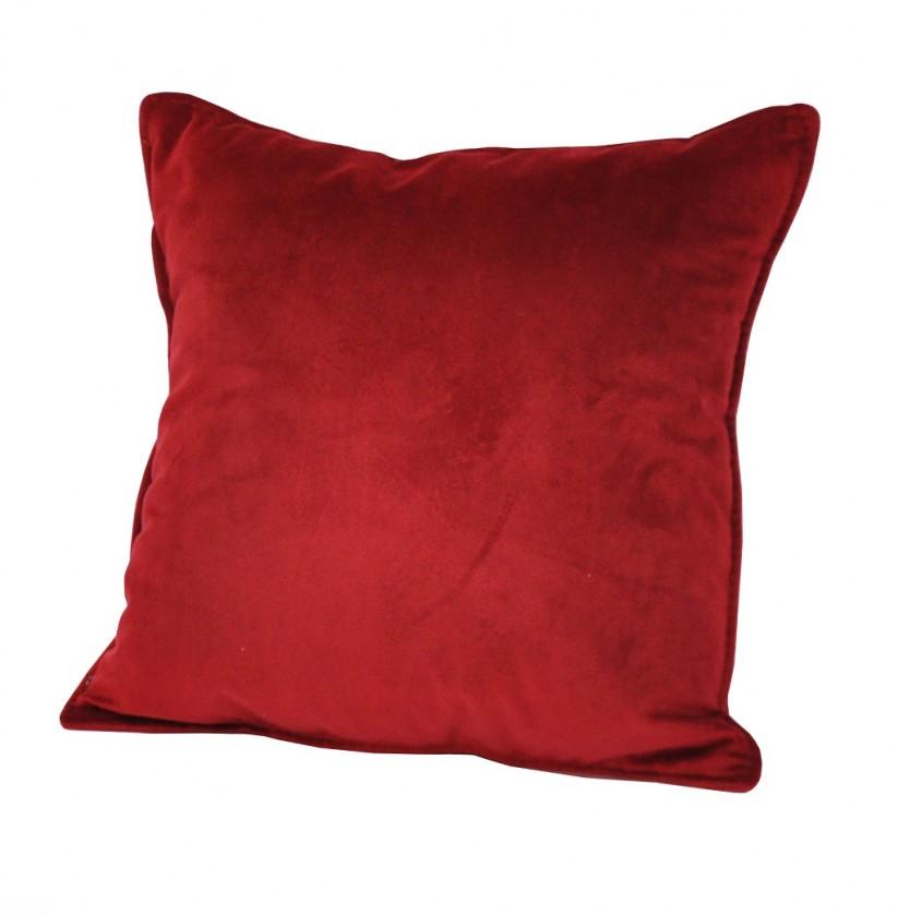 Dekoračné vankúše Vankúš (40x40 cm, červená)