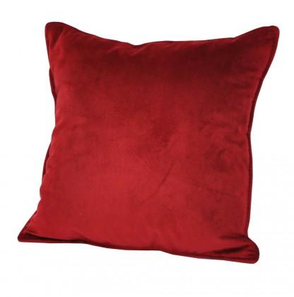 Dekoračné vankúše Vankúš (50x50 cm, červená)