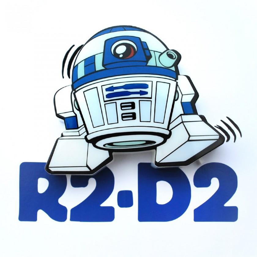 Dekoratívne osvetlen 3D LIGHT FX svetlo 3D Mini EP7 - R2-D2
