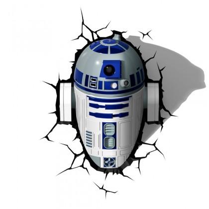 Dekoratívne osvetlen 3D LIGHT FX svetlo EP7 - Star Wars R2D2