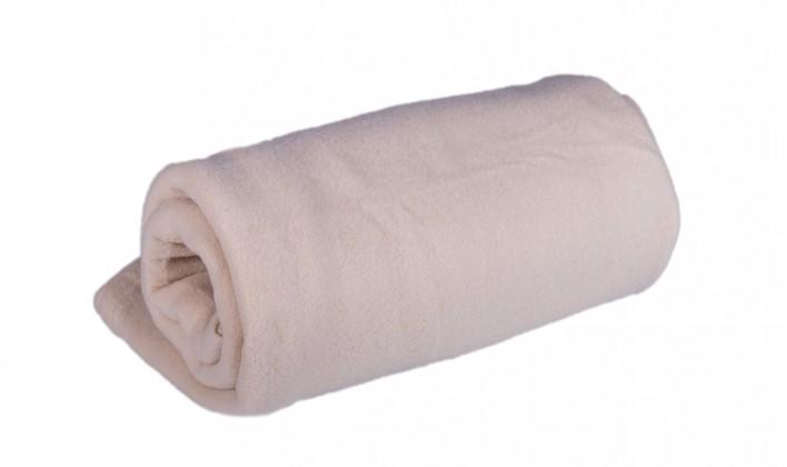 Deky Deka fleece DF02 (150x200 cm, smotanová)