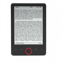 Denver čítačka e-kníh 6'', podscvícená, úložisko 4 GB, čierna