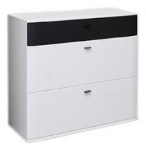 Denver Typ 07 (biela artic/čierna strukturovaná)