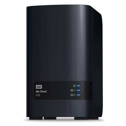 Desktop 3,5 WESTERN DIGITAL My Cloud EX2 2x4TB, WDBVKW0080JCH-EESN