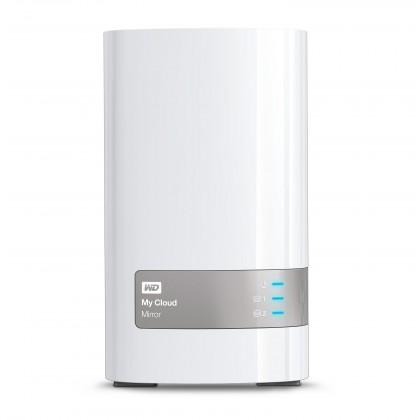 Desktop 3,5 Western Digital My Cloud Mirror 4TB WDBZVM0040JWT-EESN