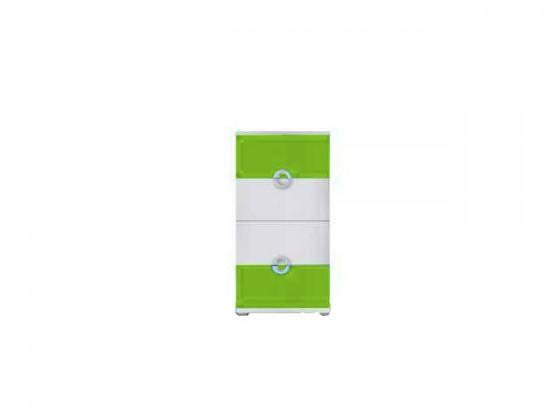 Detská komoda Manta 10(zelená)