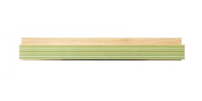 Detská komoda Monza - polica, CD 12 (višňa cornvall, zelená)