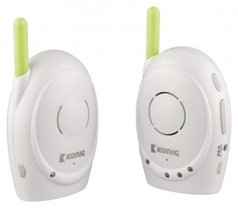 Detská opatrovateľka KÖNIG Digitální dětská audiochůvička, 2,4 GHz  - KN-BM10