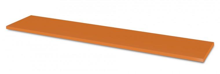 Detská police Happy Typ 36 (tmavě oranžová )
