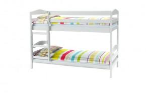 Detská poschoďová posteľ Selina (biela)