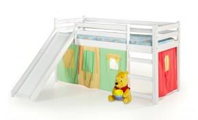 Detská posteľ Nana zvýšená (biela)