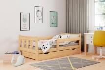 Detská posteľ Tommy 80x160, borovica, ÚP, bez matraca