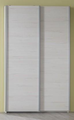 Detská skriňa Pine Aurélio - Skriňa typ 90, posuvné dvere (biela)