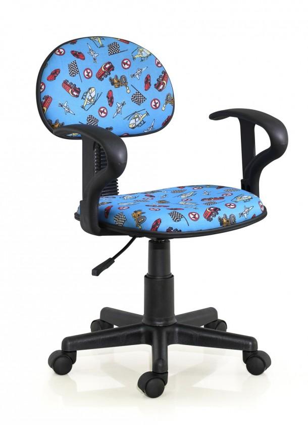 Detská stolička Alfred - detská stolička (modrá)