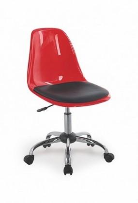 Detská stolička Coco II (Červeno-čierna)