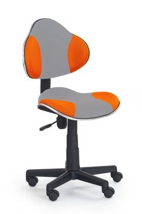 Detská stolička Flash 2- detská stolička (sivo-oranžová)