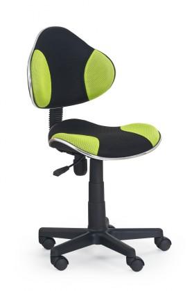 Detská stolička Flash - detská stolička (zeleno-čierna)