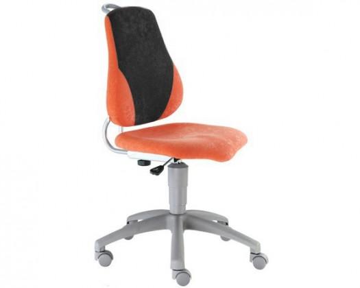 Detská stolička Neon (čierna/oranžová)