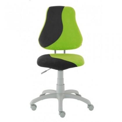 Detská stolička Neon (čierna/zelená)