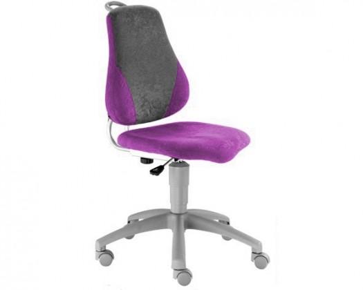 Detská stolička Neon (fialová/sivá)