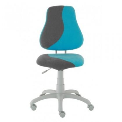 Detská stolička Neon S-line (sivá / svetlo modrá)