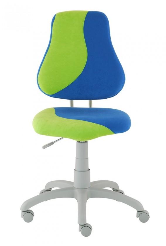 Detská stolička Neon S-line (zelená / modrá)