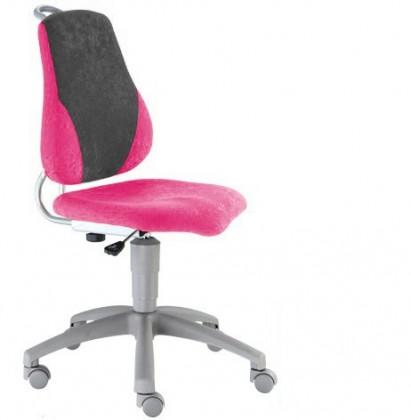 Detská stolička Neon (sivá/ružová)