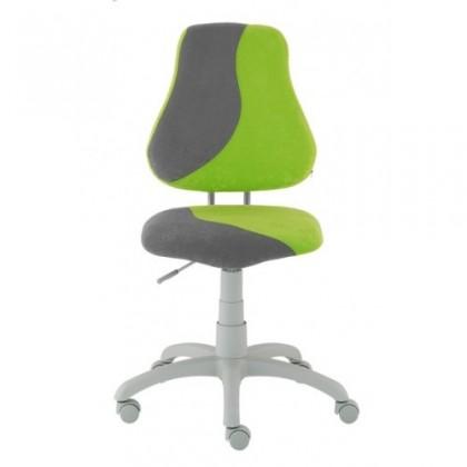Detská stolička Neon (sivá/zelená)