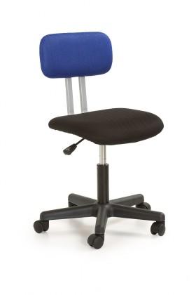 Detská stolička Play - detská stolička (čierno-modrá)