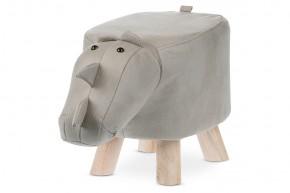 Detská taburetka Nosorožec sivá