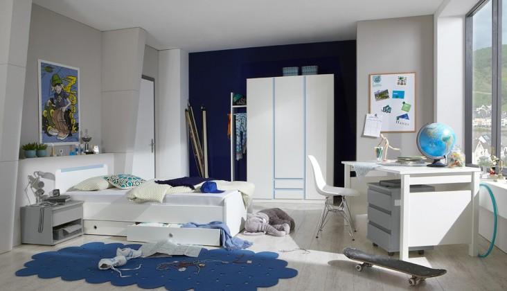 Detská zostava Bibi - Set 1 (alpská biela, modrá)