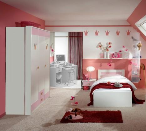 Detská zostava Cinderella - Set 2 (biela, růžová)